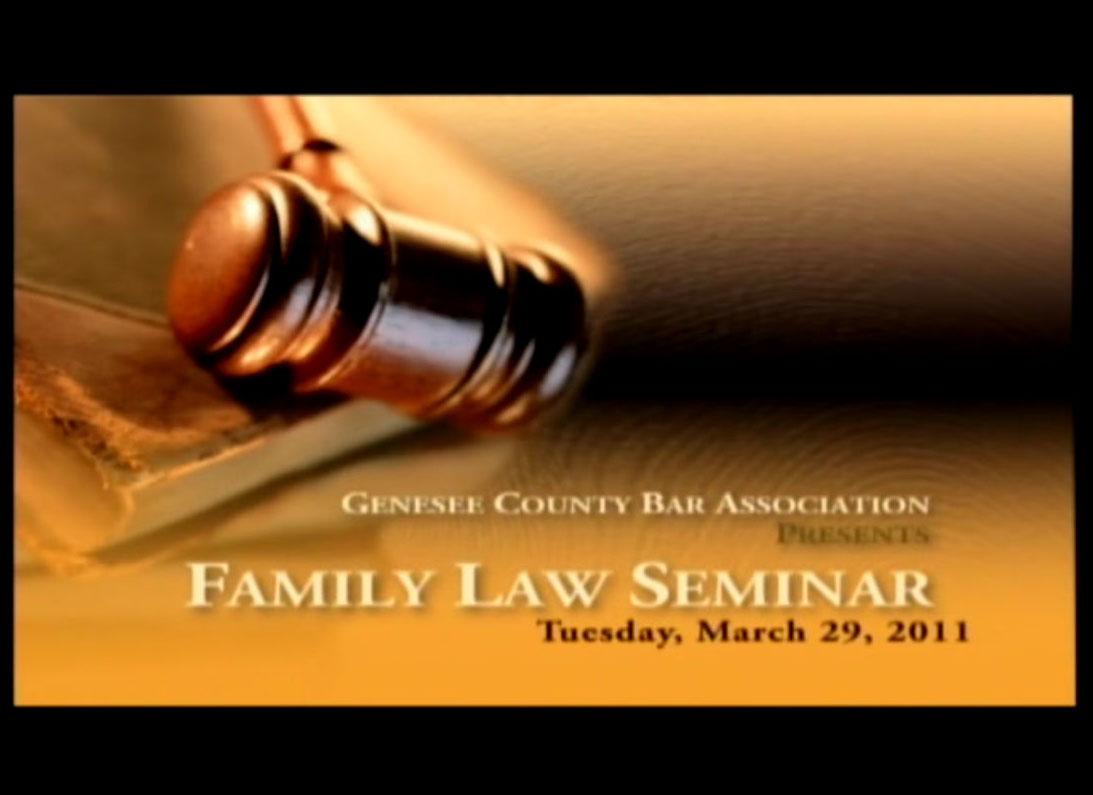 Family Law Seminar